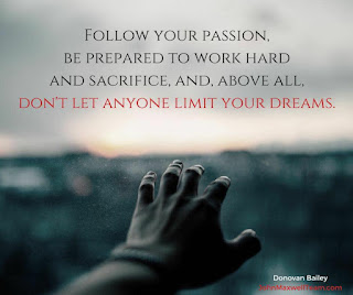 dont let anyone limit your dreams