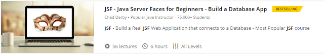 JSF - Java Server Faces for Beginners - Build a Database App