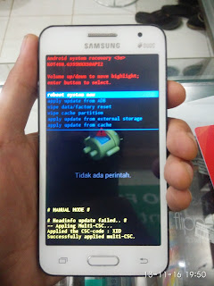 Cara Reset Pola, PIN dan Password Samsung Galaxy Core 2