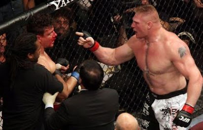 KEJAM! BROCK LESNAR VS FRANK MIR UFC HEAVYWEIGHT TITLE! (VIDEO)