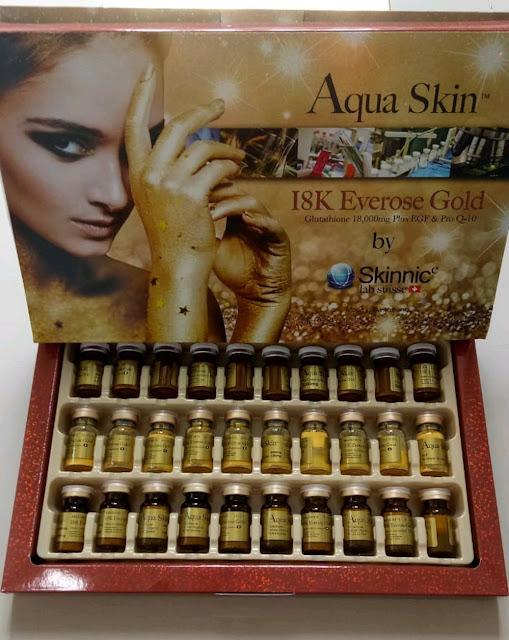 Infus Aqua Skin 18K Everose Gold