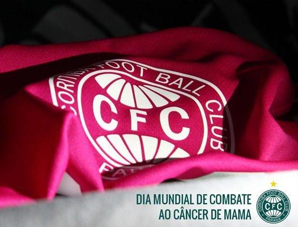 ede5324902 Coritiba adere a campanha do Outubro Rosa - Show de Camisas