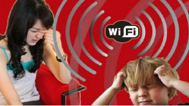 efek berbahaya menggunakan wifi terlalu sering