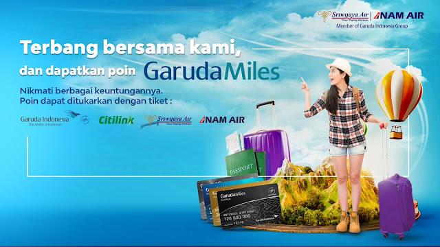 #Swiwijaya - #Promo Dapatkan GarudaMiles & Nikmati Keuntungannya