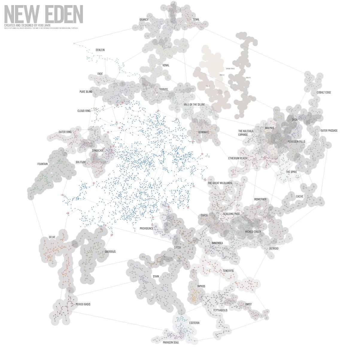 LF Eve Online Map for Framing : Eve Dotlan Maps on