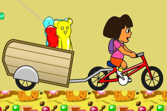 Dora And Gummy Bears Adventure game
