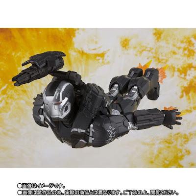 "Figuras: Imágenes del S.H. Figuarts de War Machine de ""Avengers: Infinity War"" - Tamashii Nations"