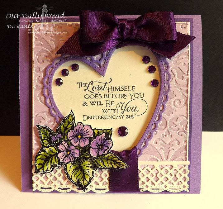 Our Daily Bread Designs, Scripture Collection 10, The Lord Has Risen, ODBD Custom Ornate Hearts dies, ODBD Custom Beautiful Borders dies
