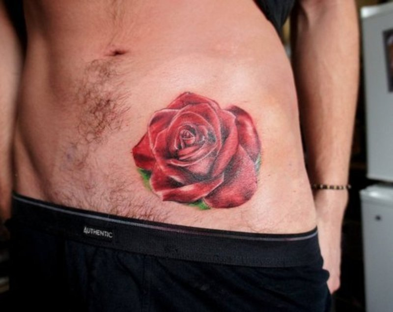 Meaningful Stomach Tattoos For Men