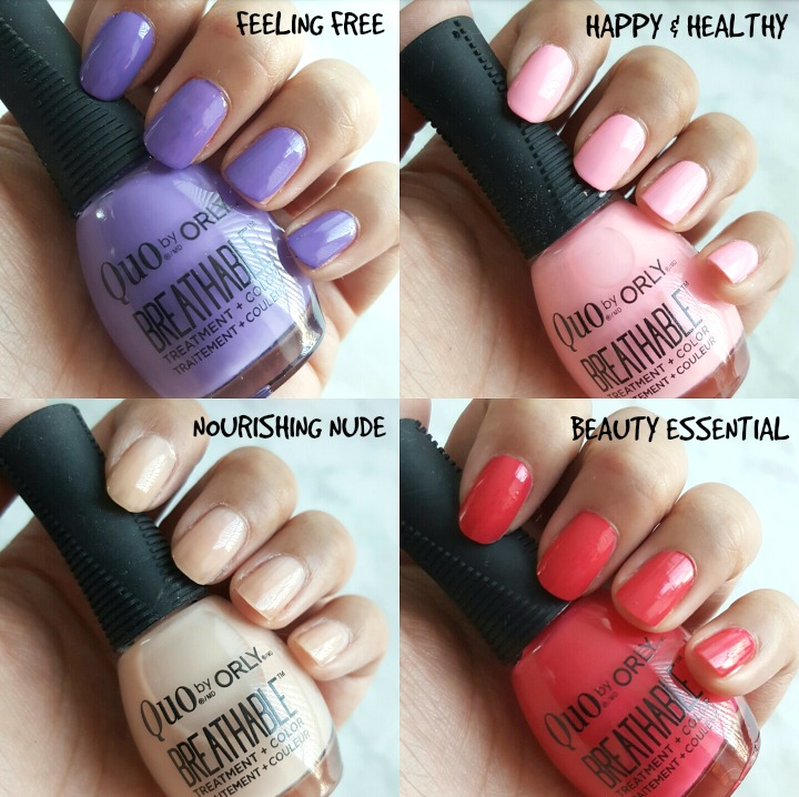 Orly Breathable Nail Polish Reviews Hession Hairdressing