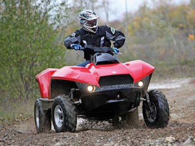 Carro anfíbio quadriciclo / ATV