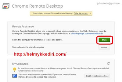 Mengendalikan komputer dengan google chrome4