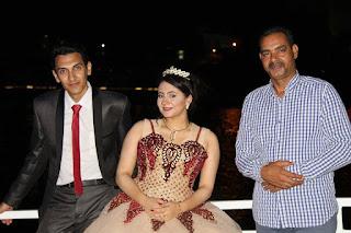 تمت خطوبة مريم عمار إبنة الإعلامية أماني عمار