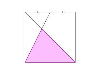 Find Area Of A Fractional Pink Shade