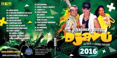Banda Djavú Pra Paredões 2016