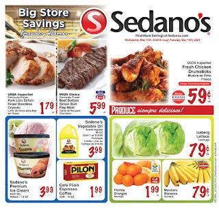 ⭐ Sedanos Ad 5/27/20 ⭐ Sedanos Weekly Flyer May 27 2020