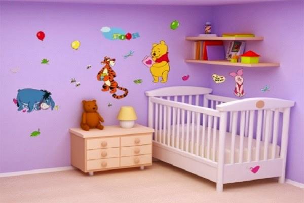 d coration chambre b b gar on winnie l 39 ourson b b et d coration chambre b b sant b b. Black Bedroom Furniture Sets. Home Design Ideas