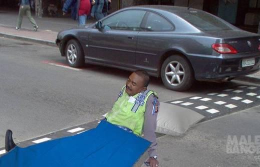 Akibat Polisi Tidur Di Jalanan