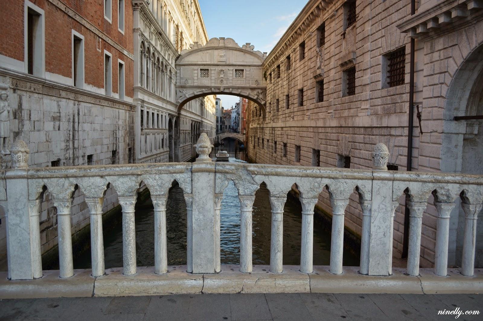 достопримечательности венеции мост вздохов