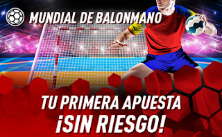 sportium Promo apuesta es Sin Riesgo Mundial Balonmano 2019