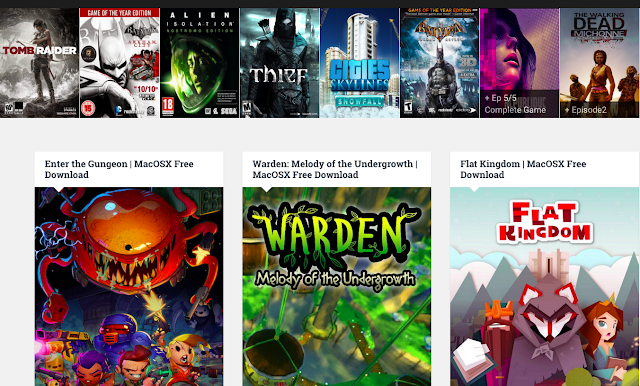 Mac OS X Free Download Games