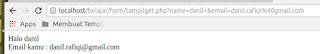 Perbedaan POST dan GET dalam PHP