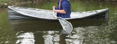 bikin sendiri kayak dari pvc dan isolasi