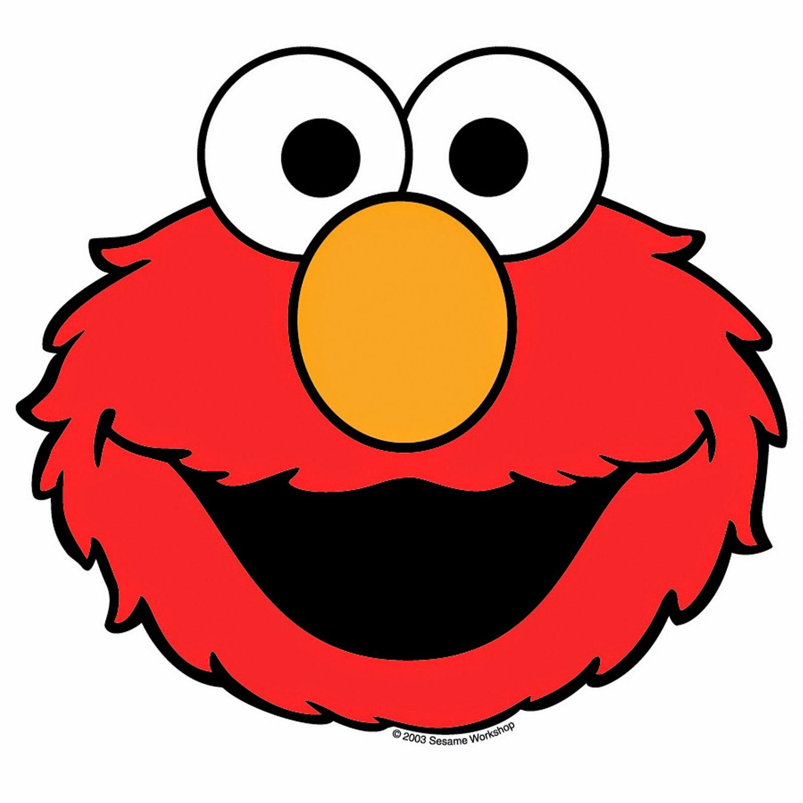 Elmo Face Clipart Elmo Birthday Party