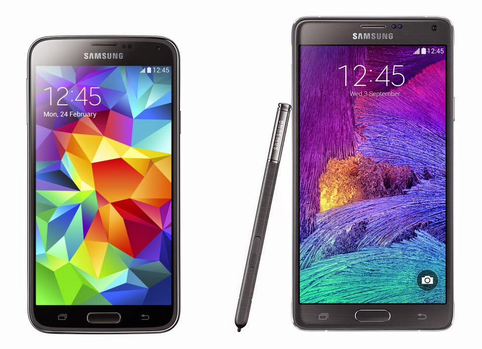 samsung galaxy 4 compared to the galaxy s5 plus