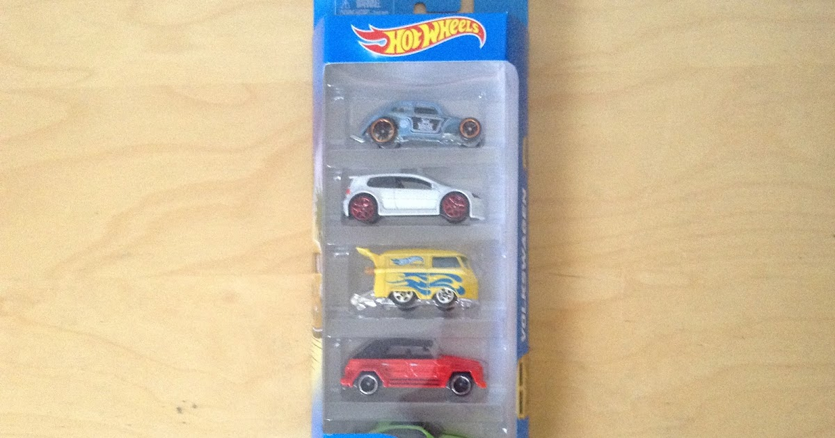 Julian 39 s hot wheels blog 2016 volkswagen 5 pack for 9 salon hot wheels 2016