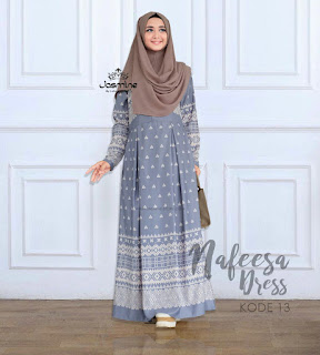 Gamis Jasmine Nafeesa Dress 13