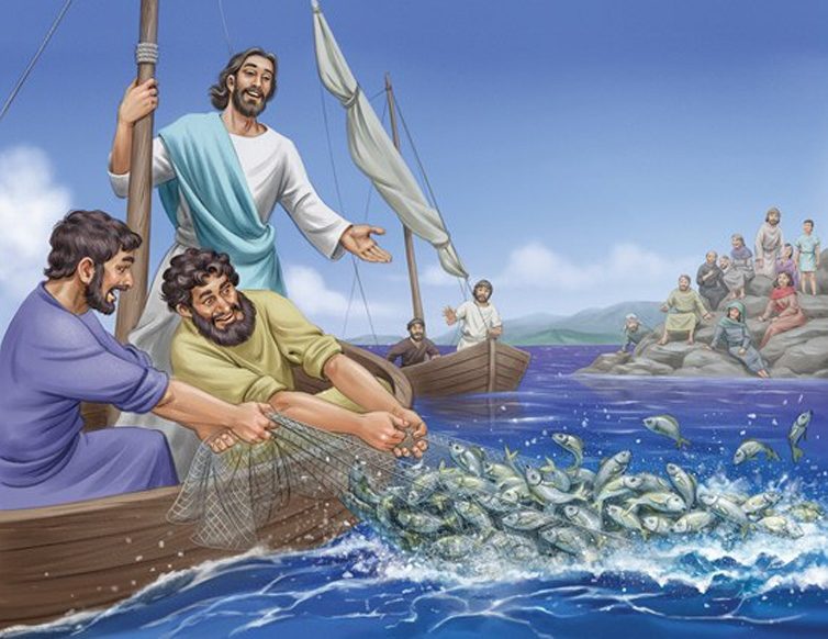 The apostle Peter was an experienced fisherman who was unable to catch a single fish in the Sea of Galilee one night.
