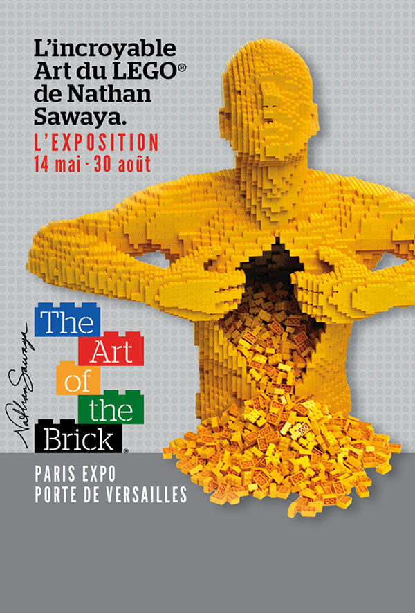 The Art of the Brick par Nathan Sawaya