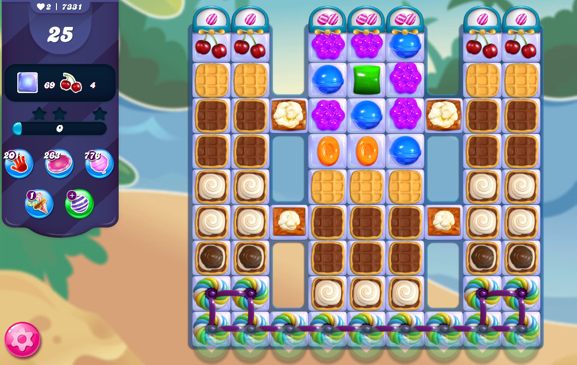 Candy Crush Saga level 7331