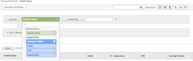 Queries to Rank Higher in Google Fast Using Analytics