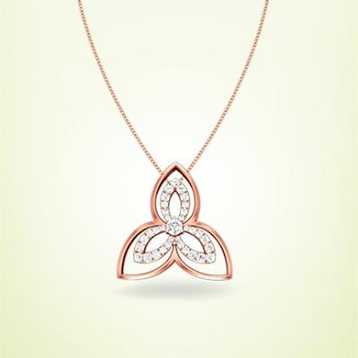 diamond pendent kirtilals