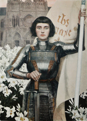 Jeanne d'Arc par Albert Lynch