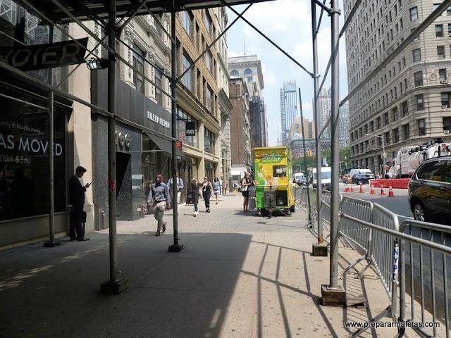 andamios y obras en nueva york