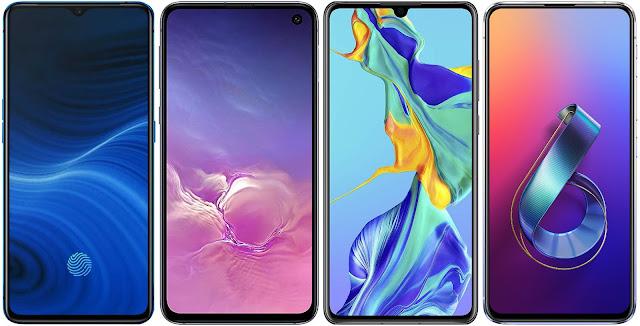 Realme X2 Pro 256 GB vs Samsung Galaxy S10e vs Huawei P30 vs Asus ZenFone 6 ZS630KL