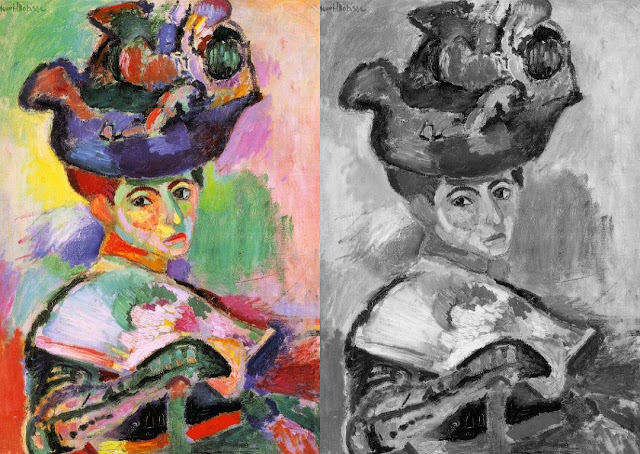 Woman with a Hat by Henri Matisse, 1905.