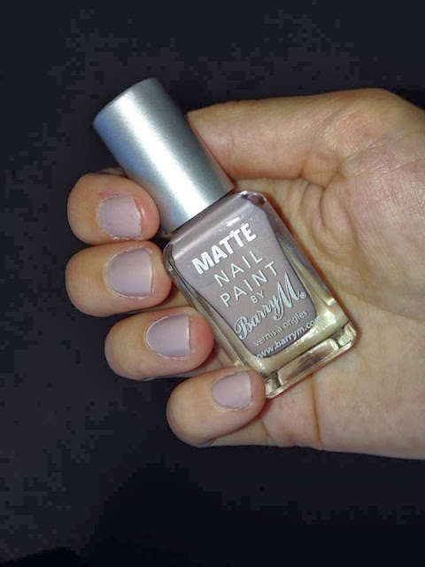 Barry M Matte Nail Paint - Vanilla