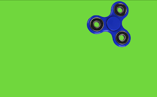 Spinner over Green Screen