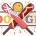ICC - Finals - England v West Indies: Google Doodle