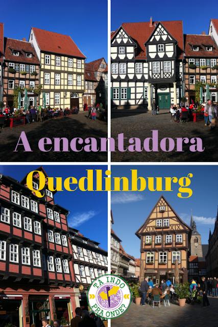 Conhecendo Quedlinburg (Alemanha) em um dia