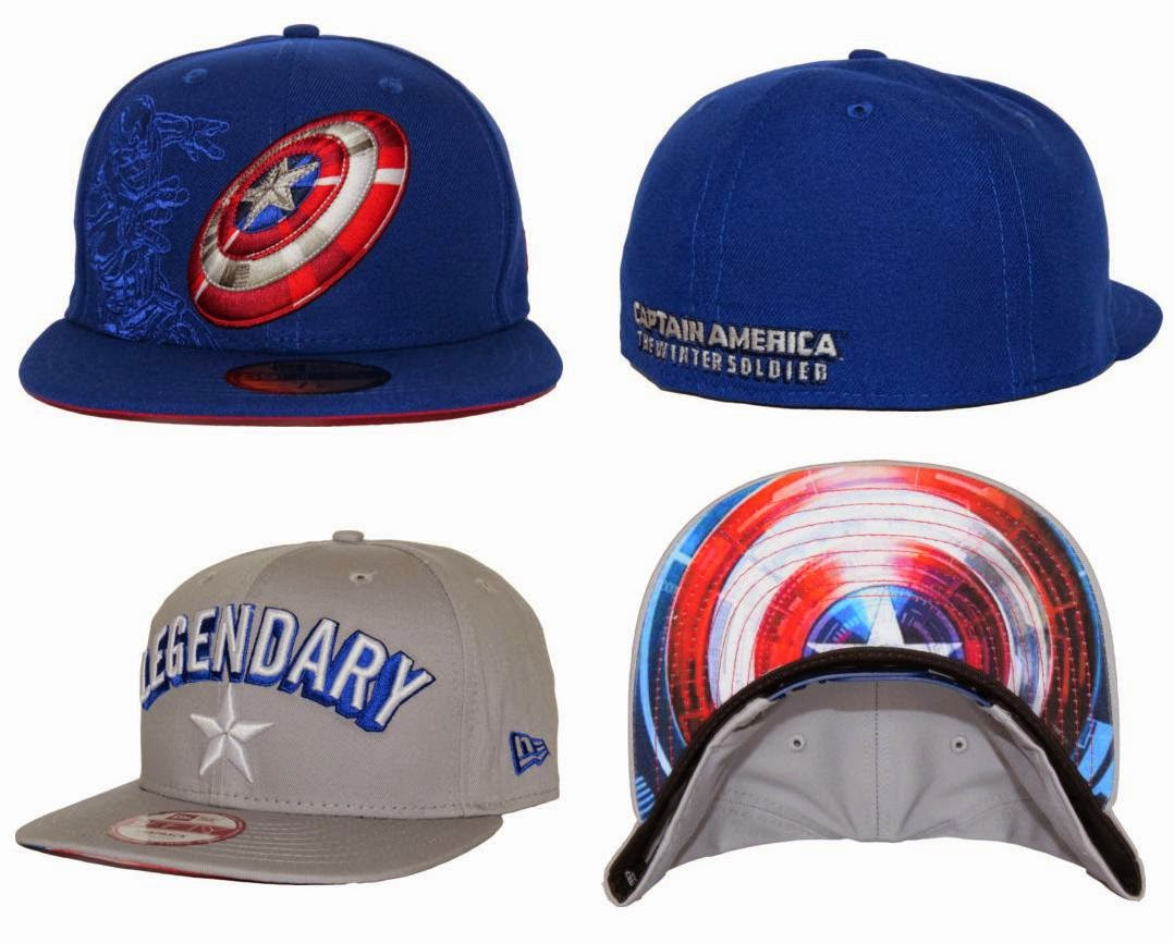 9c9aa1a2c The Blot Says...: Captain America: The Winter Soldier New Era Hat ...