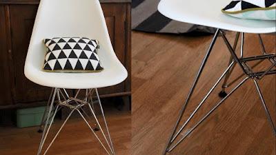 Các mẫu ghế Eames nhựa đúc được ưa chuộng cho quán cafe