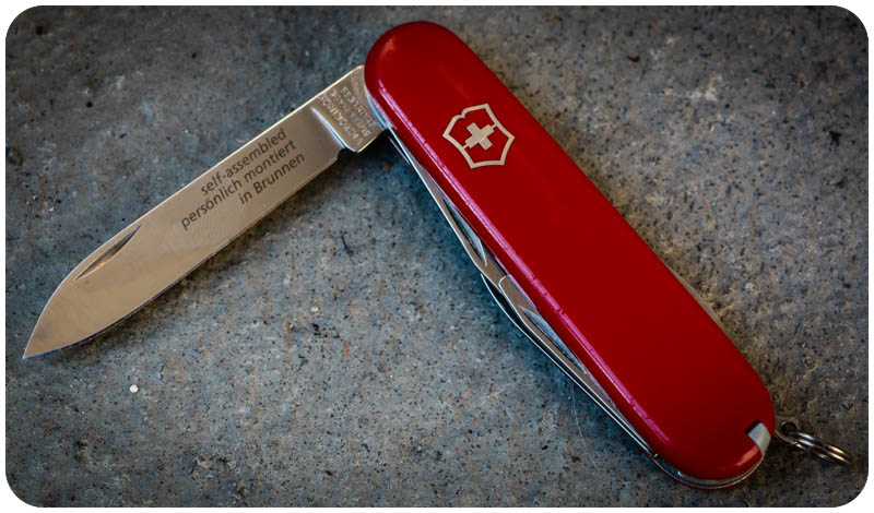 Moms Tots Zurich Make Your Own Swiss Army Knife
