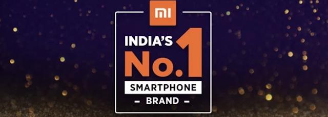 Xiaomi No.1 Smartphone Selling Company in India
