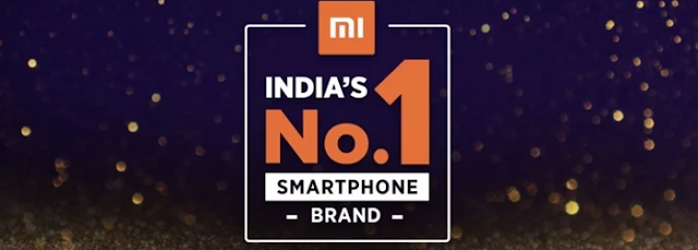 Xiaomi No.1 Smartphone Selling Company in India
