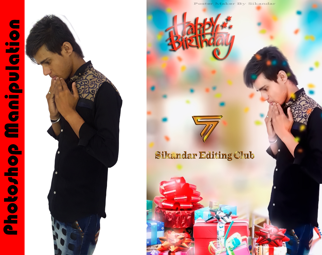 Birthday Special Editing And Effects Tutorial By Sikandar Club